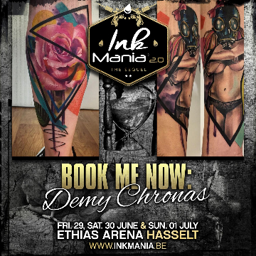 Ink Mania 2018 - Demy Chronas