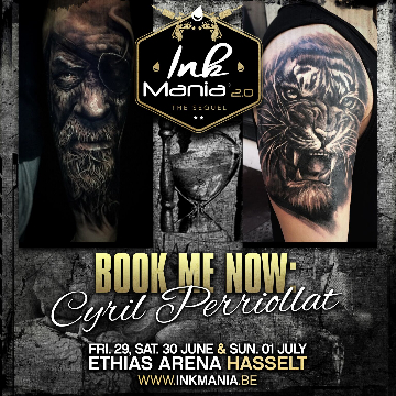 Ink Mania 2018 - Cyril PERRIOLLAT