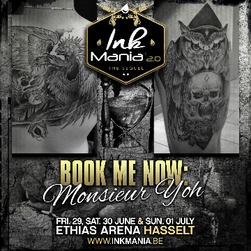 Ink Mania 2018 - Monsieur Yoh