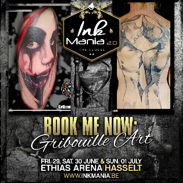 Ink Mania 2018 - Gribouille Art