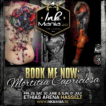Ink Mania 2018 - Mortitia Capriciosa