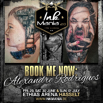 Ink Mania 2018 - Rodrigues Alexandre