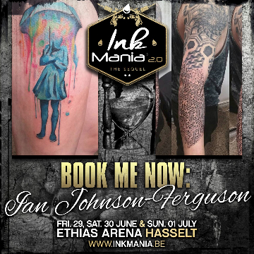 Ink Mania 2018 - Johnson Ferguson Ian