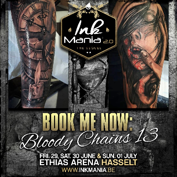 Ink Mania 2018 - bloody chains