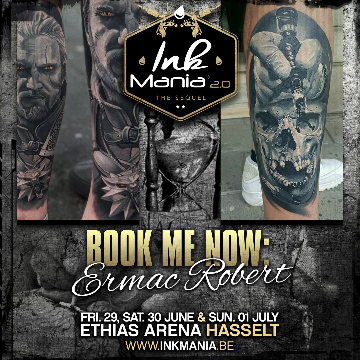 Ink Mania 2018 - Ermac Robert