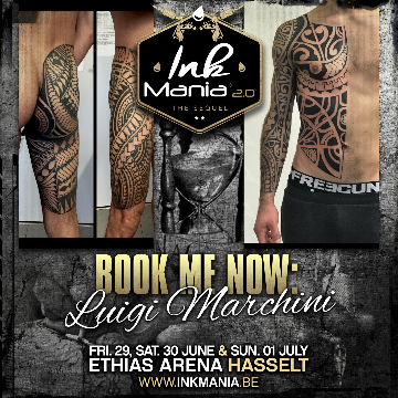 Ink Mania 2018 - Marchini Luigi
