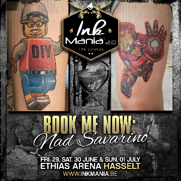 Ink Mania 2018 - Nad Savarino