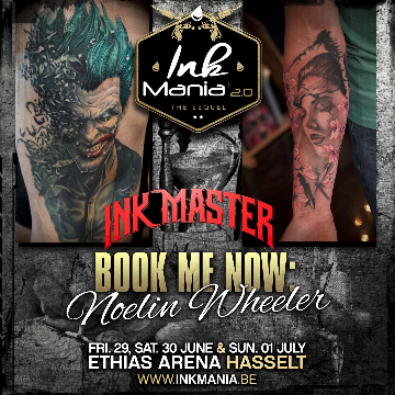Ink Mania 2018 - Noelin Wheeler