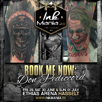 Ink Mania 2018 - Don Peddicord