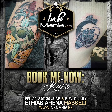 Ink Mania 2018 - Kate