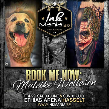 Ink Mania 2018 - Wollesen Maleike