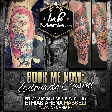 Ink Mania 2018 - Edoardo Casini